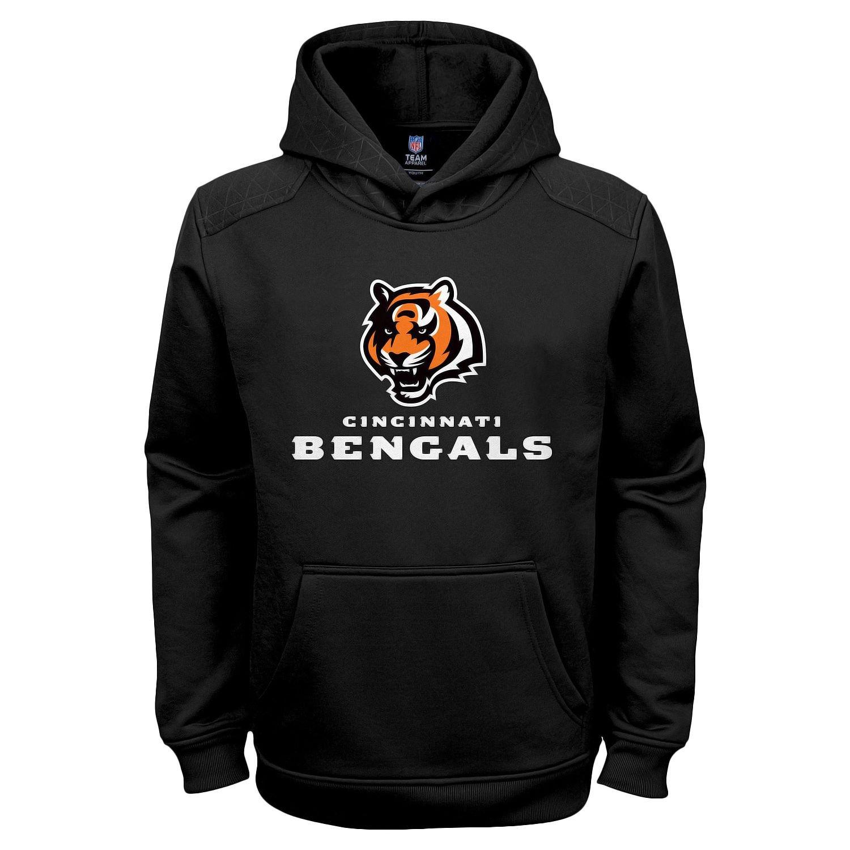 e71c700c Amazon.com: Cincinnati Bengals Black NFL Kids Primary Logo ...