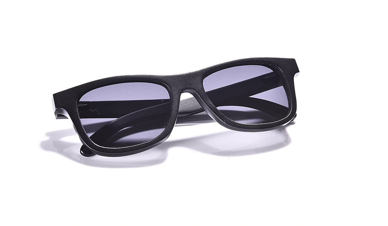 Bamboo Wood Sunglasses in Wayfarer Style with Polarized Lens for Men and Women