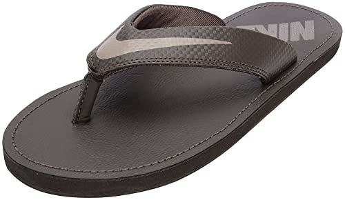 fb72ad5f56a70 Nike Men s Chroma Thong 4 Baroque Brown and Radiant Emerald Flip Flops  Thong Sandals - 6 UK India (40 EU)(7 US)  Buy Online at Low Prices in India  - Amazon. ...