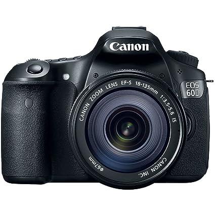 Amazon.com : Canon EOS 60D 18 MP CMOS Digital SLR Camera with 18 ...