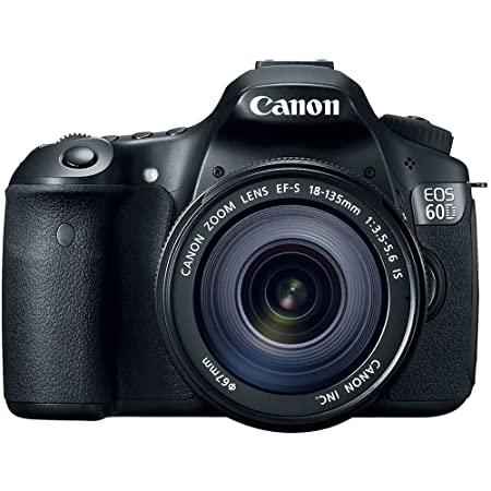 Amazon.com : Canon EOS 60D 18 MP CMOS Digital SLR Camera With 18 ...