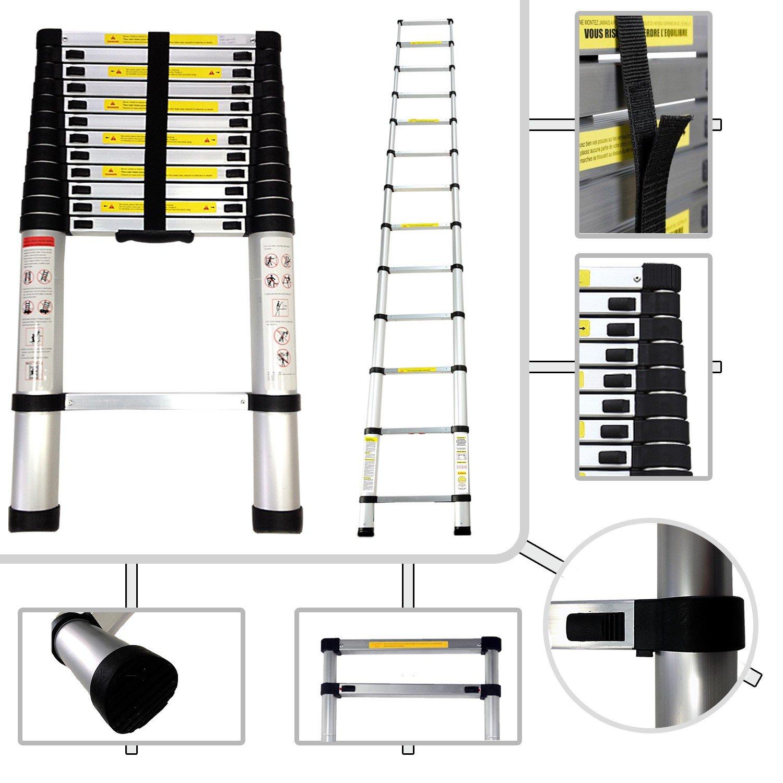 sotech norme en escalera telescpica de aluminio m