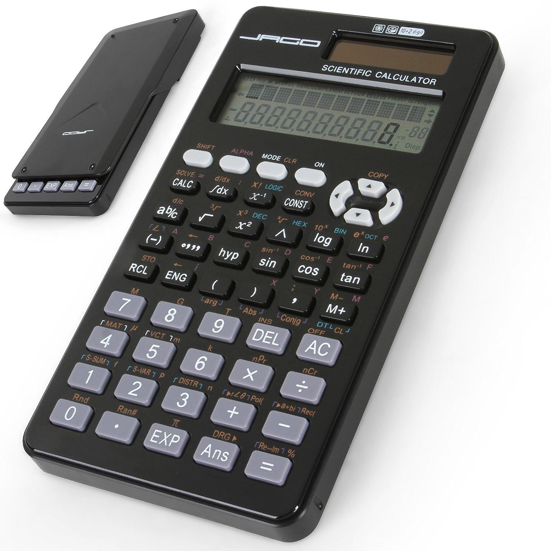jago Calcolatrice grafica calcolatrice elettronica solare scientifica fino 401 funzioni TSRC01