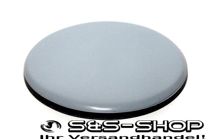 100 St/ück Teflon-M/öbelgleiter rund /Ø 19 mm 5 mm dick inkl Schraube 3,5 mm x 20 mm//PTFE-Beschichtung//Teflongleiter//M/öbelgleiter//Stuhlgleiter