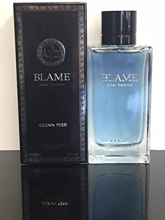 Amazon.com : BLAME POUR HOMME BY GLENN PERRI COLOGNE FOR MEN 3.4 OZ / 100 ML EAU DE TOILETTE SPRAY : Beauty