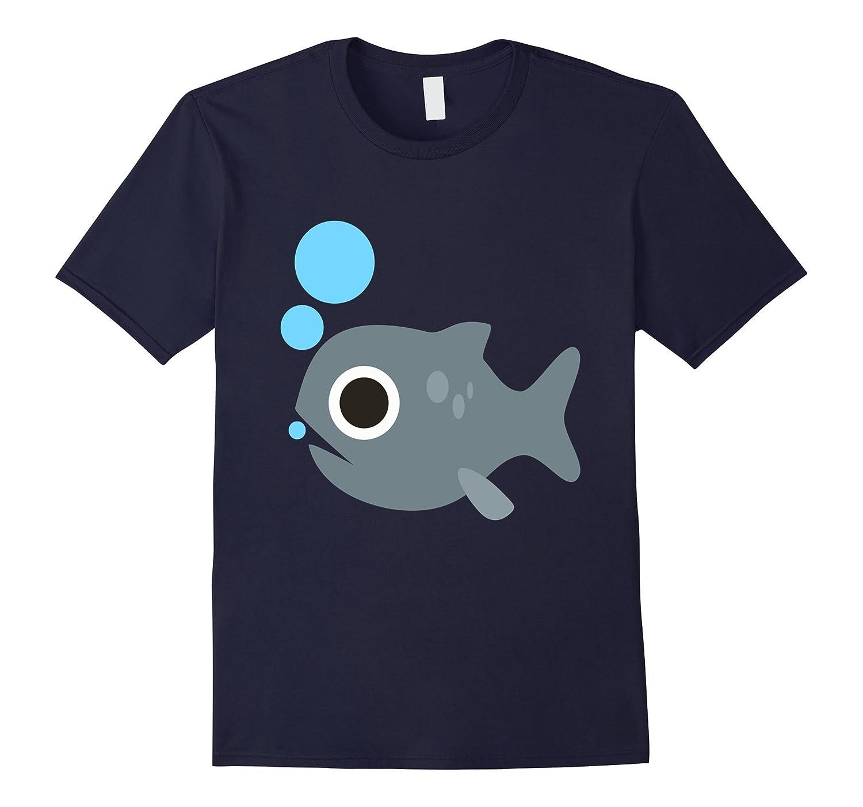 Emoji Cool Fish I Love Fishing T Shirt Camping Fan Gifts Tee-AZP