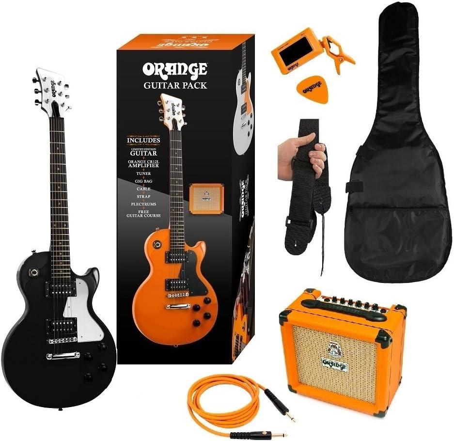 ORANGE BLACK GUITAR PACK DE GUITARRA ELECTRICA: Amazon.es: Instrumentos musicales