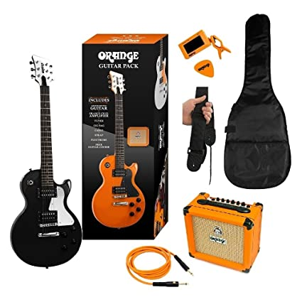 ORANGE BLACK GUITAR PACK DE GUITARRA ELECTRICA