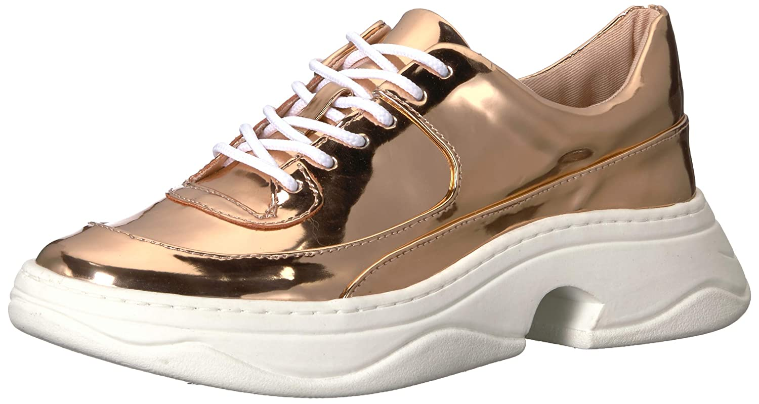 pink gold Katy Perry Womens The Vandall Sneaker