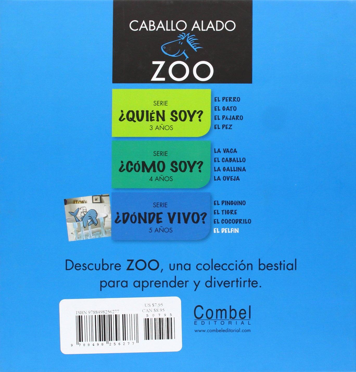 El delfín (Caballo alado ZOO) (Spanish Edition): Montse Ganges, Jordi Sales: 9788498256277: Amazon.com: Books