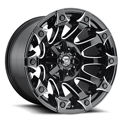 Best Off Road Wheels >> Amazon Com Fuel Battle Axe Black Wheel With Painted Finish
