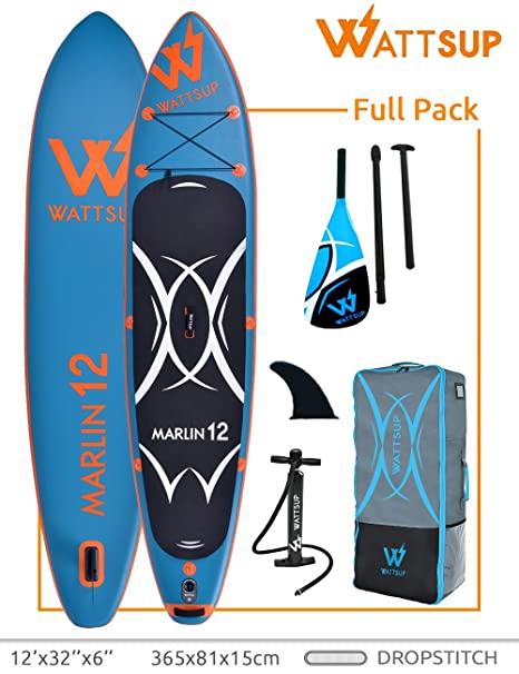 Wattsup Unisex Adulto PB-WMAR120 Hinchable Stand Up Paddle Caer ...