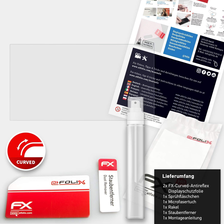 entspiegelnde und Flexible FX Displayschutzfolie atFoliX Schutzfolie passend f/ür Pioneer AVH-X7700BT X7800BT Folie 2X