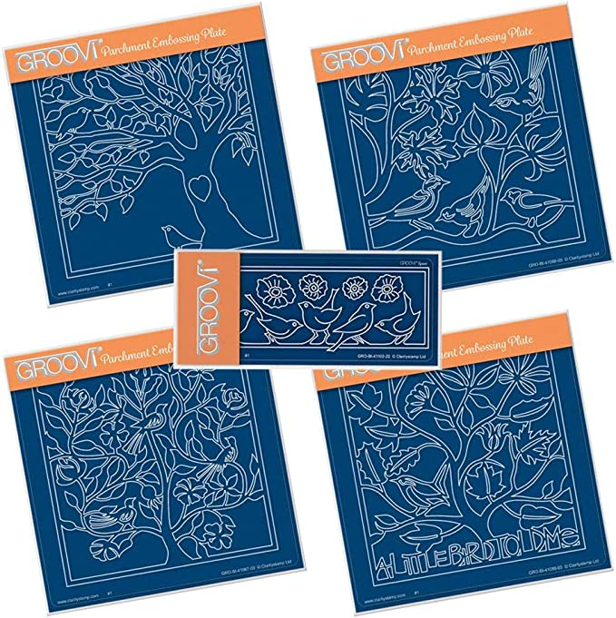 Clarity Stamps Groovi Parchment Embossing Spacer Plate A Gift For You