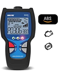Innova 3020d Check Engine Code Reader w/ABS , DTC Severity, Emissions Diagnostics, and Easy to Use HotKeys for OBD2 Vehicles