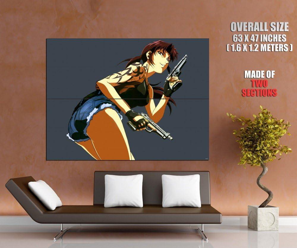 Black Lagoon Manga Anime Giant Wall Art Print Poster Picture