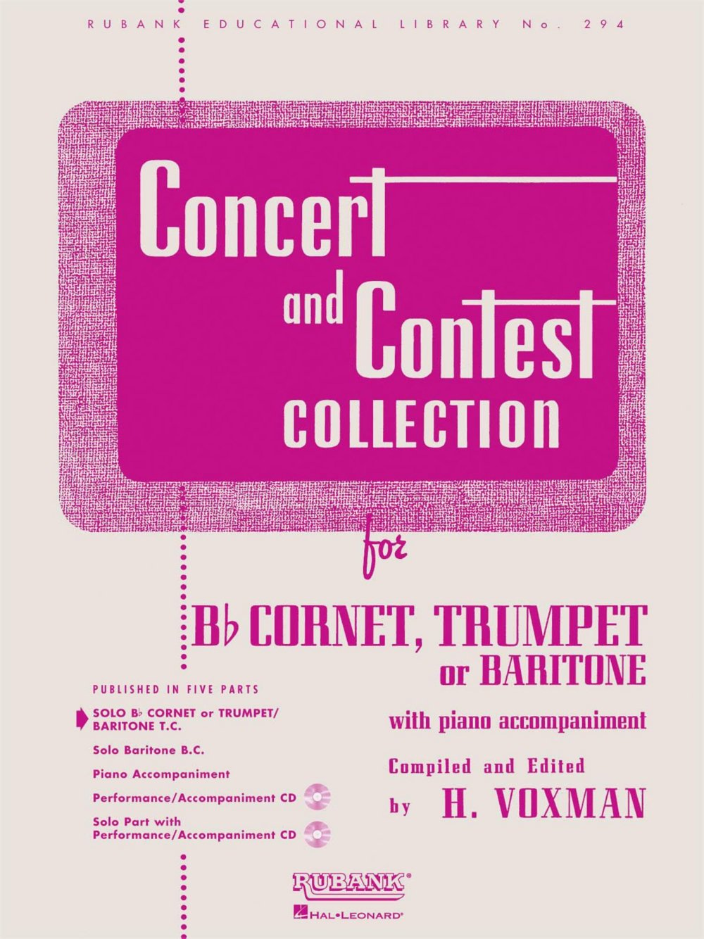 Amazon com: Concert and Contest Collection for Trumpet