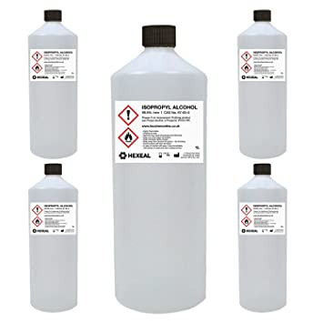 IPA 100% | 5 LITRE (L) | Lab/Pharmaceutical Grade | Isopropyl  Alcohol/Isopropanol (99%)