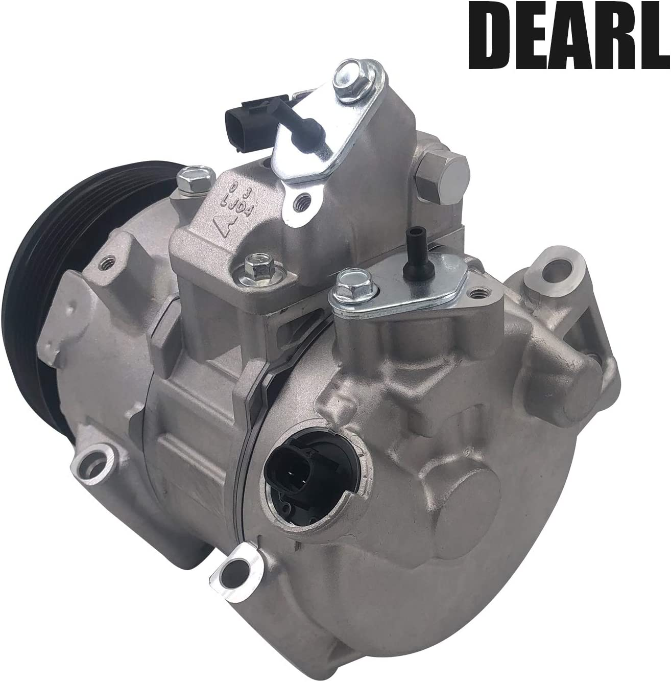 Dearl A//C AC air condition compressor with Clutch L4 2.5L compatible with Toyota 12-17 Camry 2009 2010 2011 2012 2013 2014 2015 2016 2017 09-12 Rav4 09 10 11 12 13 14 15 16 17