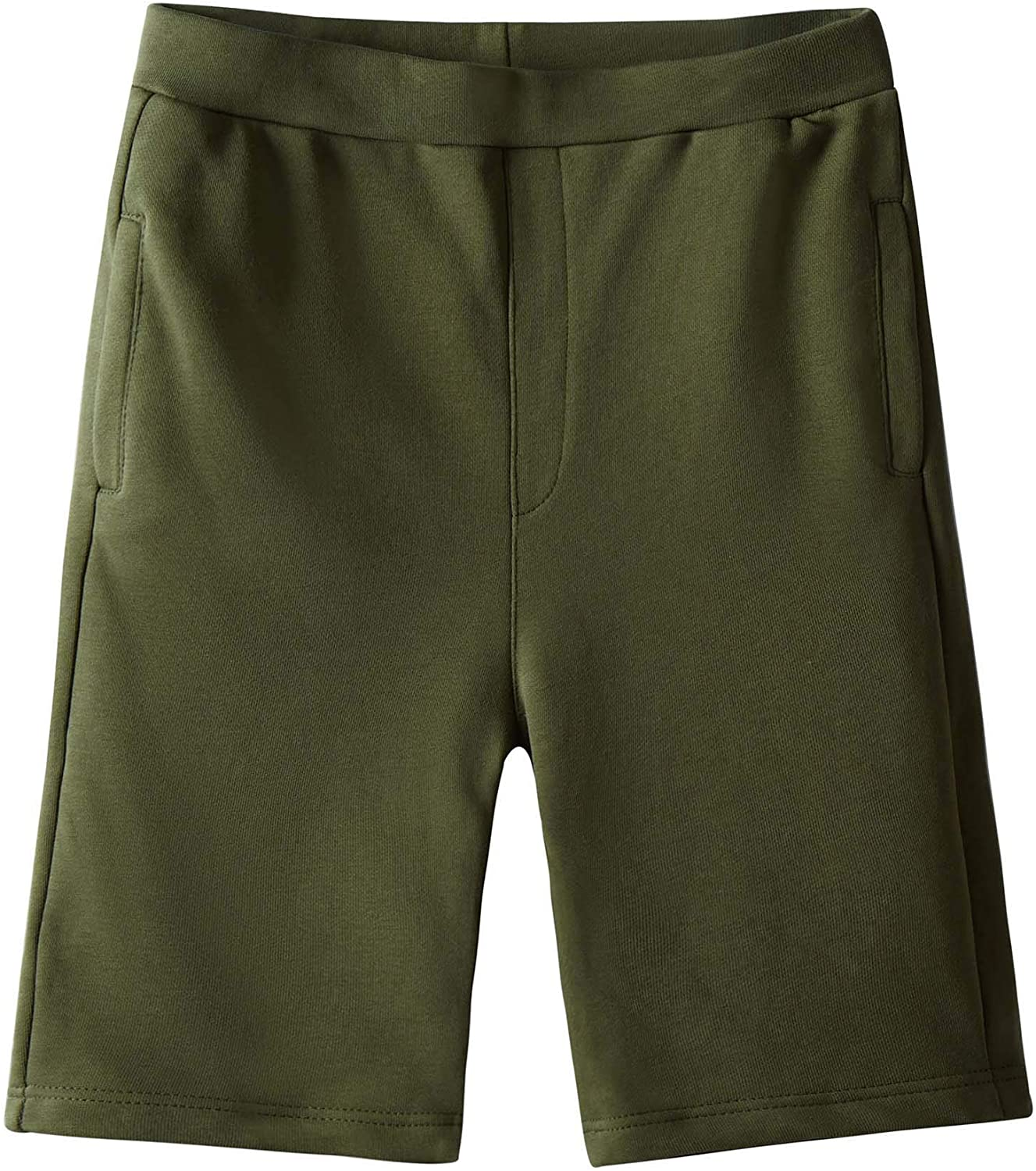 Spring/&Gege Boys Casual Soft Cotton Active Pocket Shorts