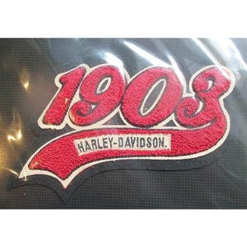 hotrodspirit - Gros Patch Harley Davidson 1903 rojo 18.5 cm ...