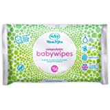 Mum & You Biodegradable and Compostable Plastic Free Baby Wet Wipes, 56 Count (Pack of 6)