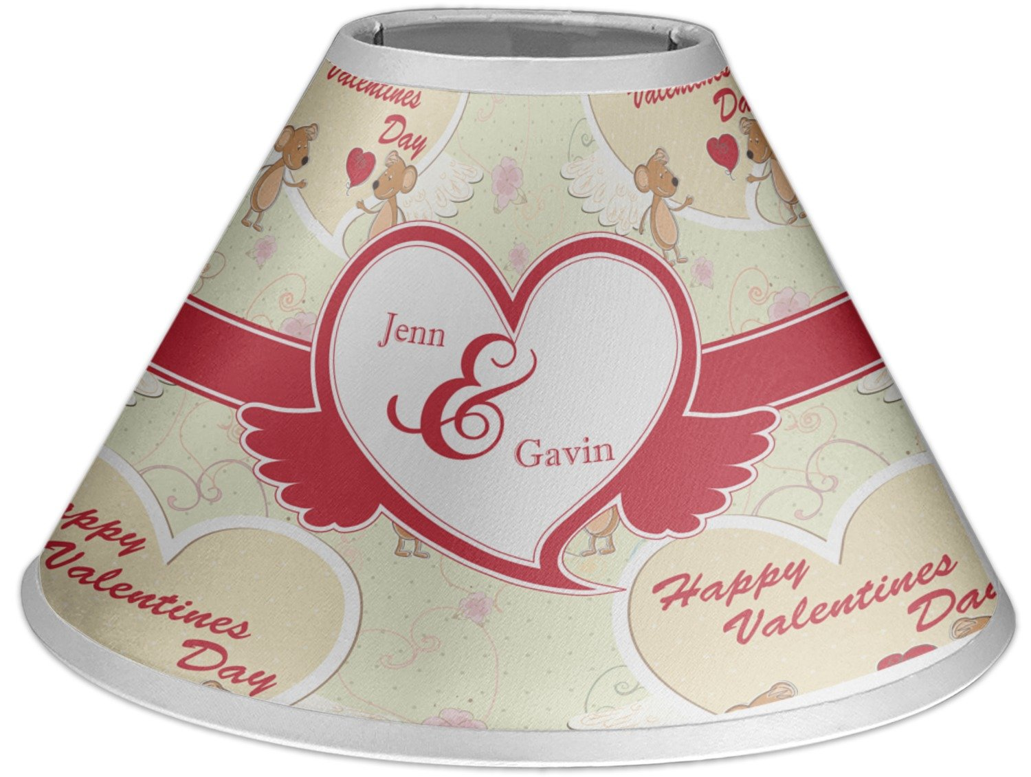RNK Shops Mouse Love Coolie Lamp Shade (Personalized)