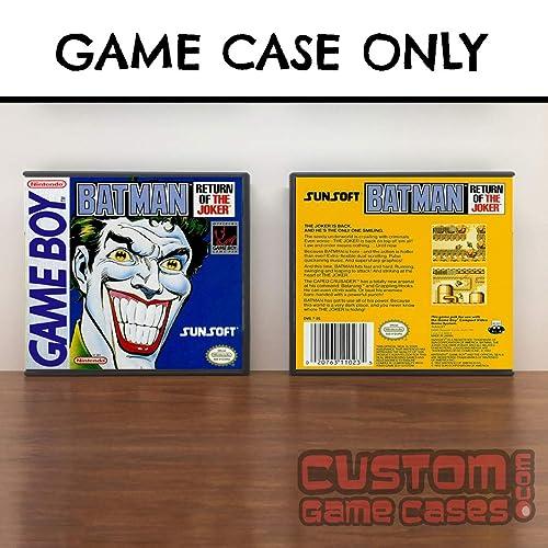 Amazon Com Gameboy Batman Return Of The Joker Game Case Handmade