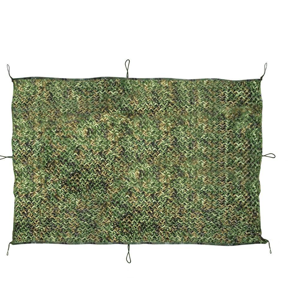 JTDEAL camouflage net, 2m x 3m militare caccia foresta camo net per camping, outdoor Sun, decorazione per feste a tema, auto coperture camouflage Netting
