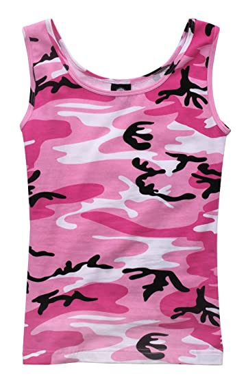 121be4b14484ab Amazon.com  Rothco Womens Camo Stretch Tank Top  Sports   Outdoors