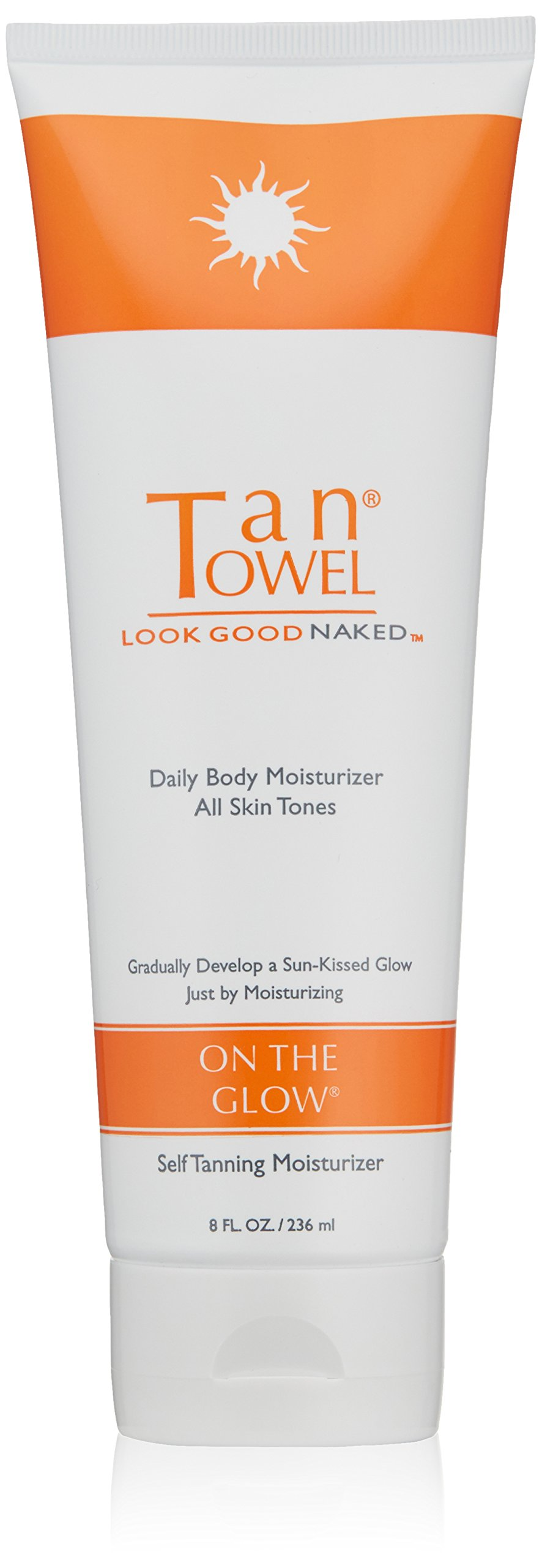 Tan Towel On The Glow Body Self Tanning Moisturizer, 8 Fl Oz
