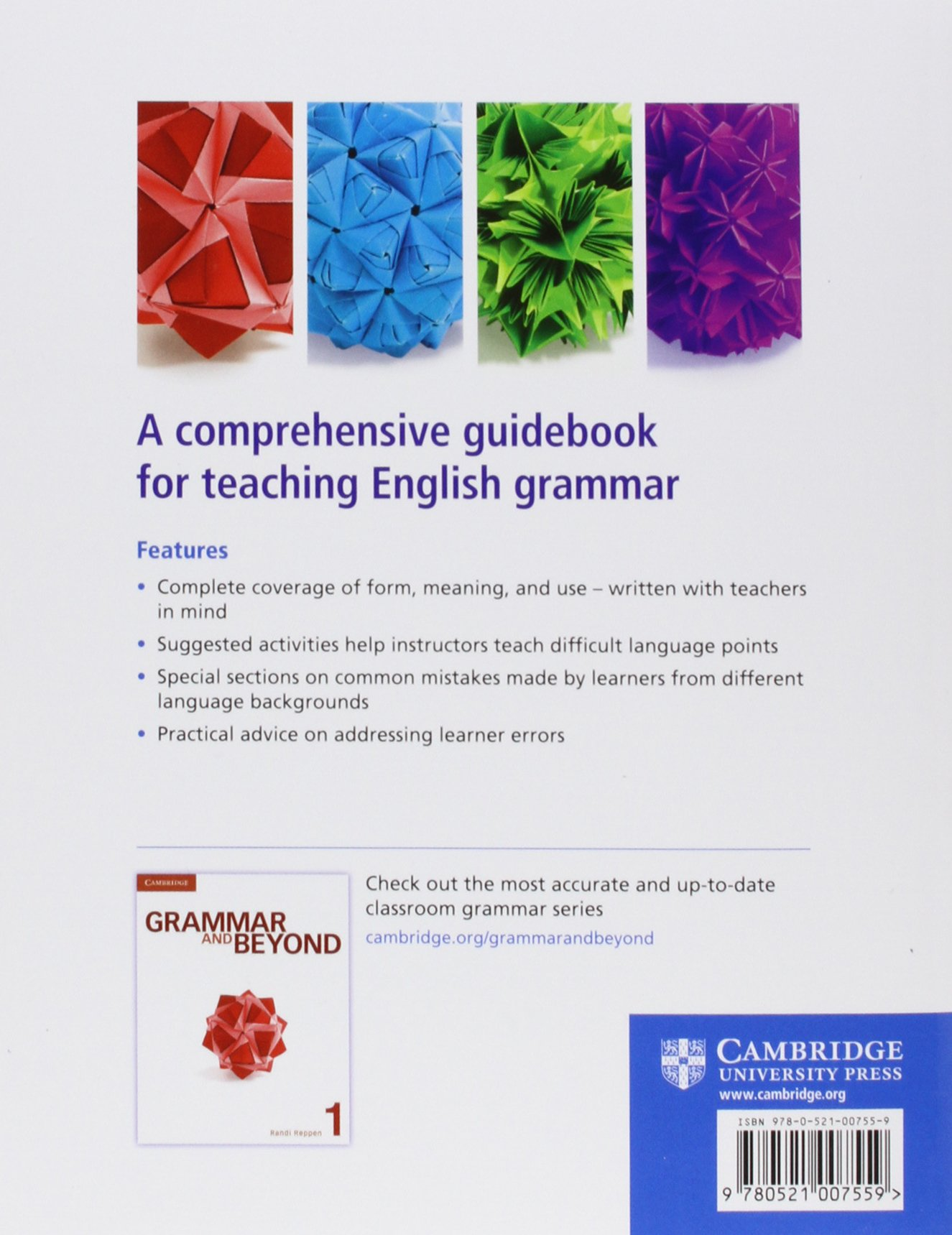The teachers grammar of english with answers a course book and the teachers grammar of english with answers a course book and reference guide ron cowan 9780521007559 foreign languages amazon canada fandeluxe Images