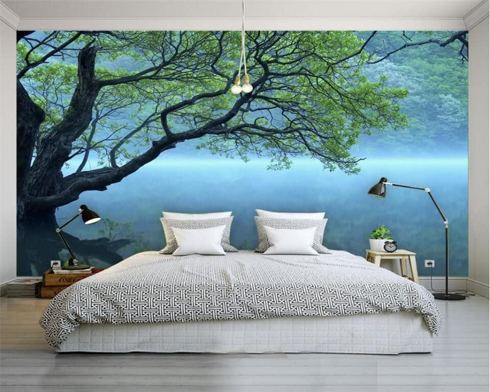 Lwcx Custom Photo Wallpaper Modern 3d Wallpaper Tree Landscape Art Design Bedroom Office Living Room Wallpaper For Walls 3d 250x175cm Wallpaper Amazon Canada,Character Design Excited Poses Reference
