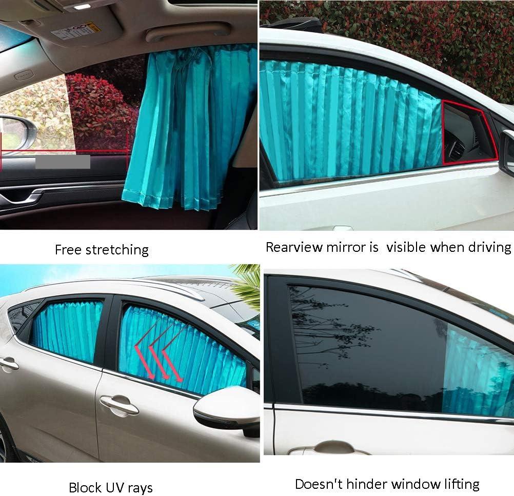 Silber Hitzeschutz ZATOOTO Sonnenschutz f/ürs Auto Vorhang Sonnenschutz Magnetisch f/ür UV-Schutz