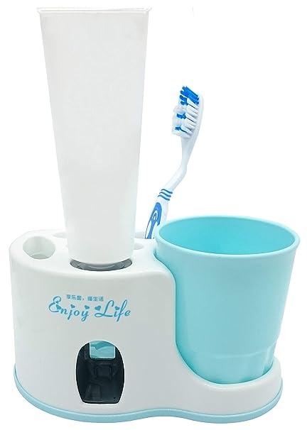 Legenden Dispensadore de pasta de dientes - con vaso y porta ...