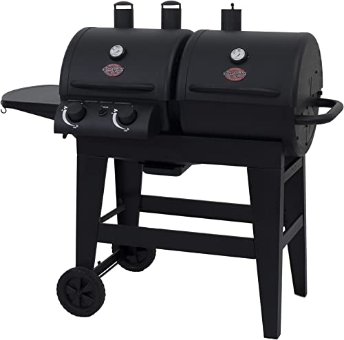 Char-Griller 5030 2-Burner dual fuel combination charcoal/gas grill