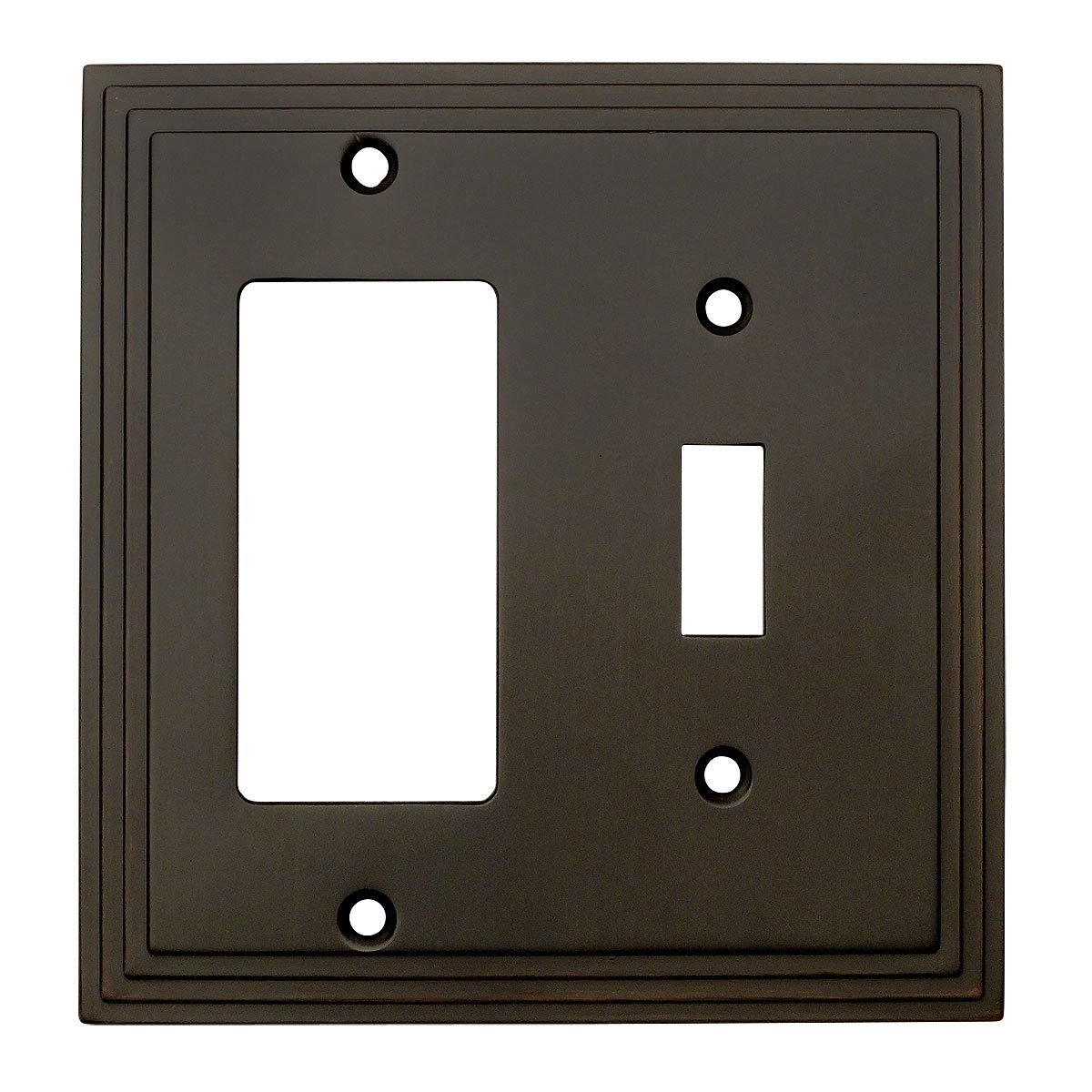 Oil Rubbed Bronze Toggle Amp Decora Gfci Rocker Combo Wall