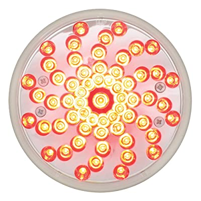 """Grand General 76723 Red 4"""" Twister Style 61-LED Stop/Turn/Tail Light: Automotive"""