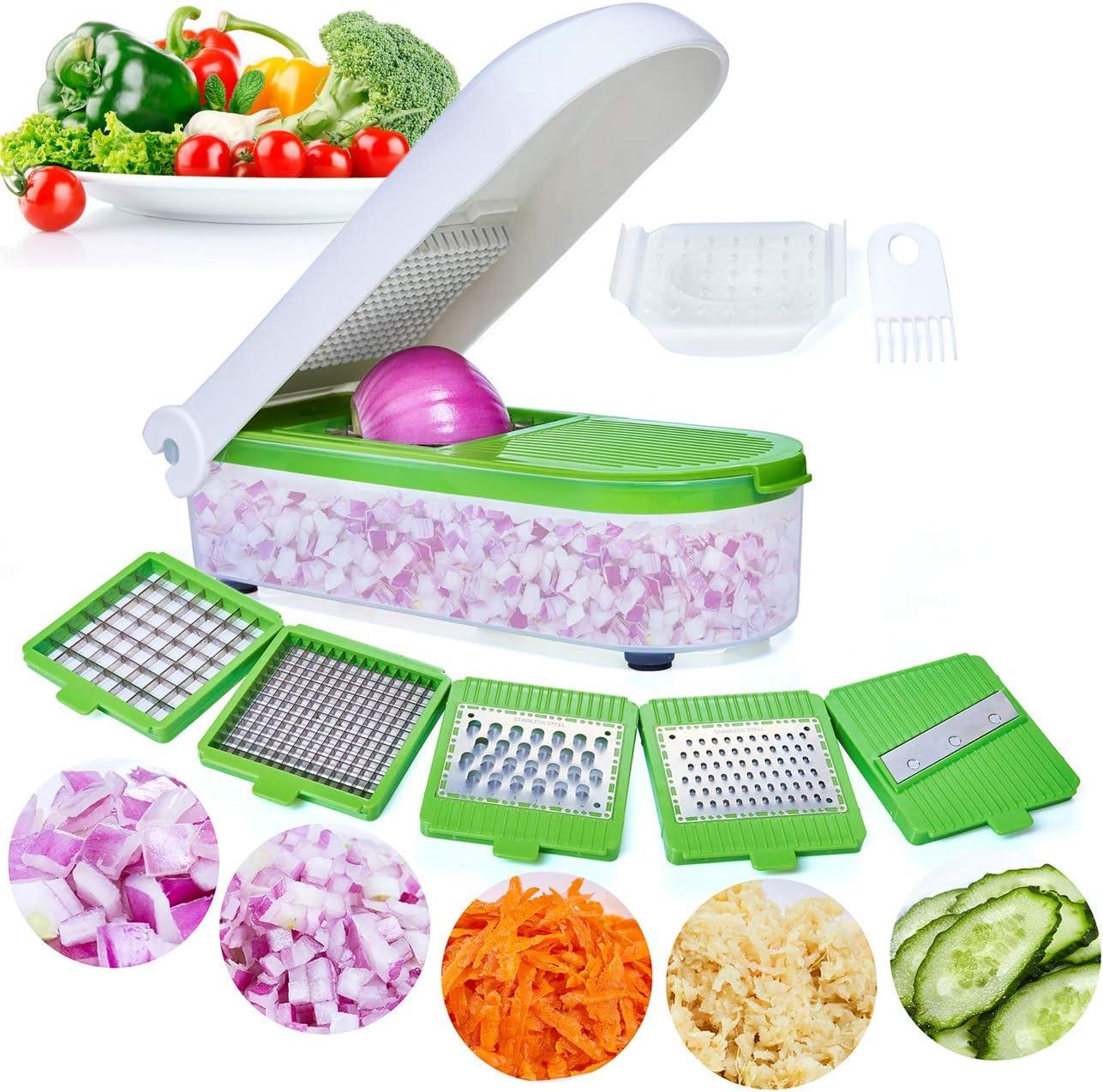 Rallador de vegetales 5 cuchillas