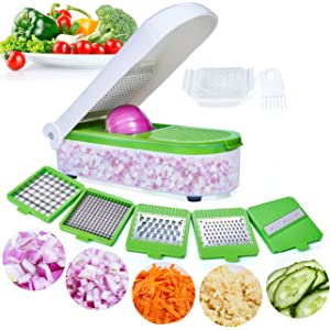 Amazon com: Fullstar Vegetable Chopper - Spiralizer