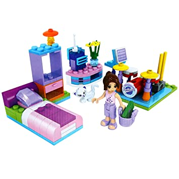 Bloques Mini Belleza Toy Galook Diy Piezas Juguetes Construcción Habitación Centro 108 Set Familiar Regalo Beauty De CBredWxo