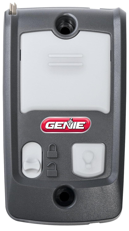 ガレージオープナー用3ボタンリモート Genie G3T-R 最大3台のガレージドアオープナーをコントロール Genie製のガレージドアオープナーのみと互換性あり Intellicodeセキュリティテクノロジー搭載