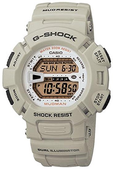 Casio Women s G-Shock G9000-8 Grey Resin Quartz Watch with Gold Dial  Casio   Amazon.ca  Watches 7fb4183fa