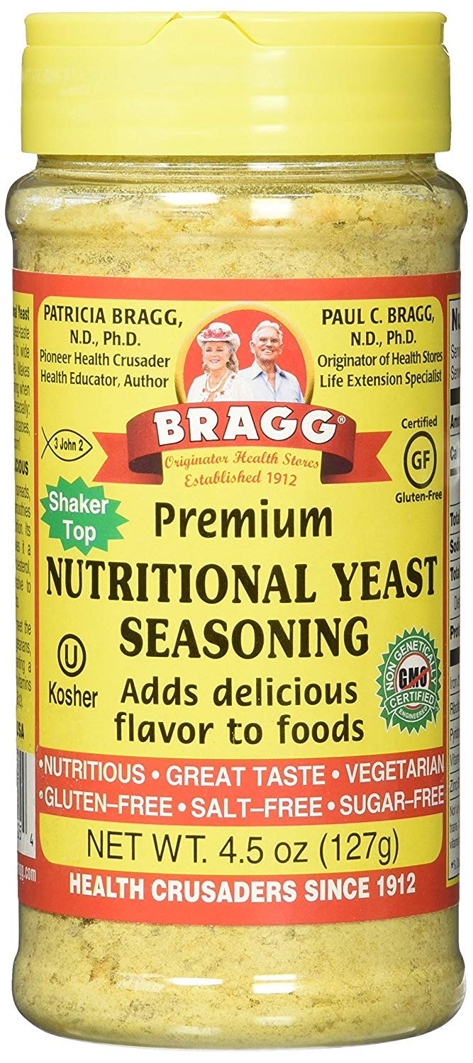Nutritional Yeast, 4.5 oz, 10 Bottles
