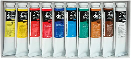 Winsor /& Newton Artisan Brushes for Water Mixable Oil Colour