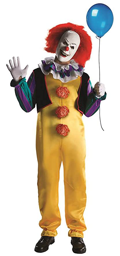 Amazon Pennywise Costume It The Movie By Stephen King Scary Best Pennywise Costume Pattern