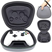 Sisma Game Controller Holder Case for Official Xbox One X or One S Wireless Controller, Heavy Duty Protective Cover Hard Housing Pouch Fit - Gray