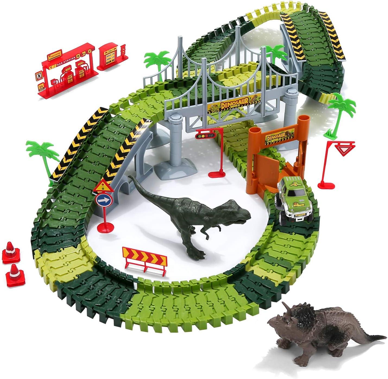 Amazon coupon code for Dinosaur Toys Train Tracks Boy Gifts