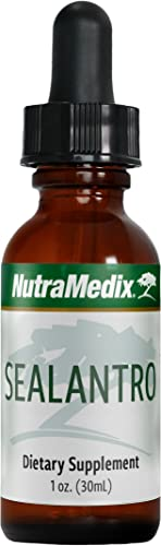 NutraMedix Chlorella, Cilantro Red Seaweed Drops – Sealantro, Liquid Detox Cleanse Support Herbs, Immune Support Supplement 1oz 30ml
