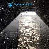 URPOWER Solar Lights, 44 LED Waterproof Motion